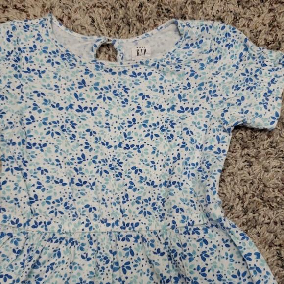 GAP Other - Blue floral dress